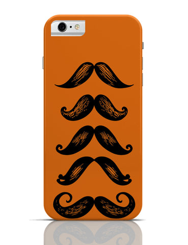 iPhone 6 Covers & Cases | Quirky Moustaches iPhone 6 Case Online India