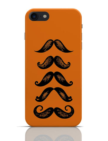 Quirky Moustaches  iPhone 7 Covers Cases Online India