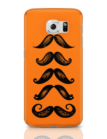 Samsung Galaxy S6 Covers | Quirky Moustaches Samsung Galaxy S6 Covers Online India