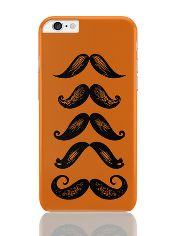 iPhone 6 Plus/iPhone 6S Plus Covers | Quirky Moustaches iPhone 6 Plus / 6S Plus Covers Online India