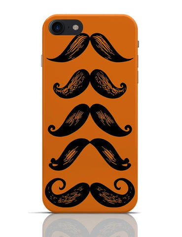 Moustache Pattern iPhone 7 Covers Cases Online India