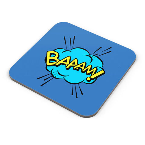 Buy Coasters Online | Comic Design Coaster Online India | PosterGuy.in