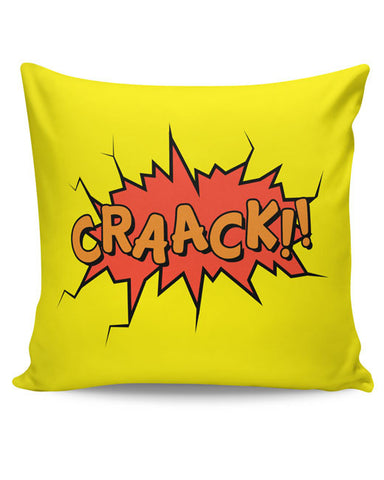 PosterGuy | Comic Crack Cushion Cover Online India