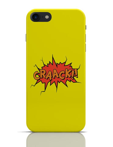Comic Crack iPhone 7 Covers Cases Online India
