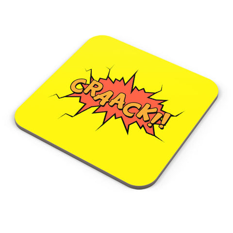 Buy Coasters Online | Comic Crack Coaster Online India | PosterGuy.in