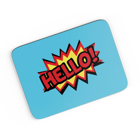 Comic Hello A4 Mousepad Online India