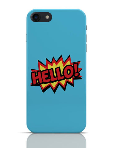 Comic Hello iPhone 7 Covers Cases Online India