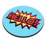 PosterGuy | Comic Hello Fridge Magnet Online India by Palna Patel
