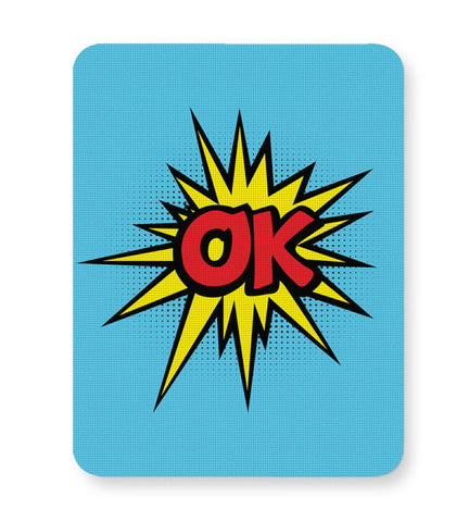 Buy Mousepads Online India | Comic Ok Mouse Pad Online India