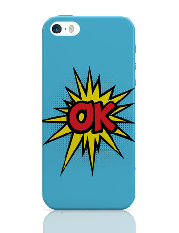 iPhone 5 / 5S Cases & Covers | Comic Ok iPhone 5 / 5S Case Online India
