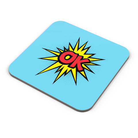 Buy Coasters Online | Comic Ok Coaster Online India | PosterGuy.in