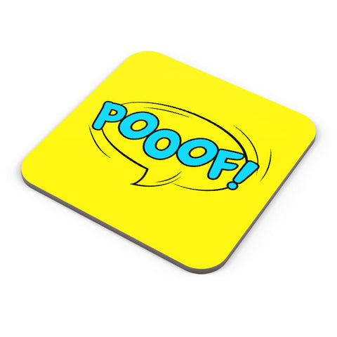 Buy Coasters Online | Comic Poof Coaster Online India | PosterGuy.in