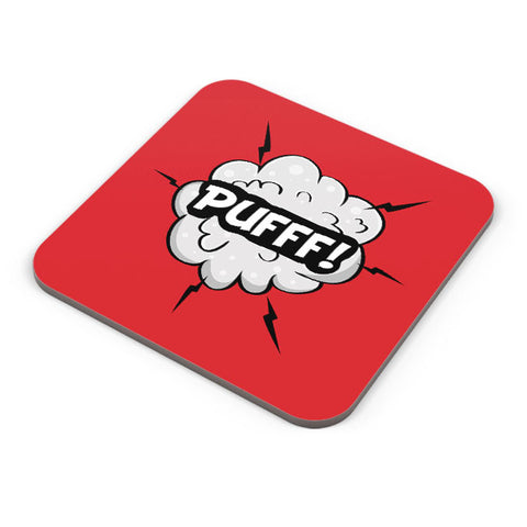 Buy Coasters Online | Comic Pufff Coaster Online India | PosterGuy.in