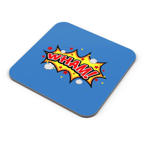 Buy Coasters Online | Comic Wham Coaster Online India | PosterGuy.in