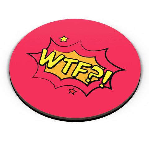PosterGuy | Comic Wtf Fridge Magnet Online India by Palna Patel