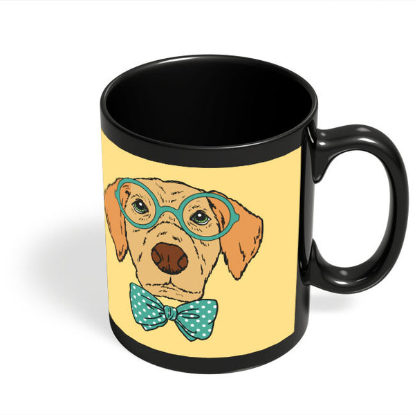 Coffee Mugs Online | Geek Dog Black Coffee Mug Online India