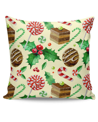PosterGuy | Christmas Pattern Cushion Cover Online India