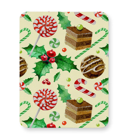 Buy Mousepads Online India | Christmas Pattern Mouse Pad Online India