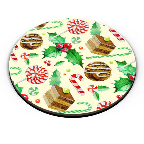 PosterGuy | Christmas Pattern Fridge Magnet Online India by Palna Patel