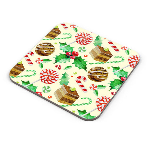 Buy Coasters Online | Christmas Pattern Coaster Online India | PosterGuy.in