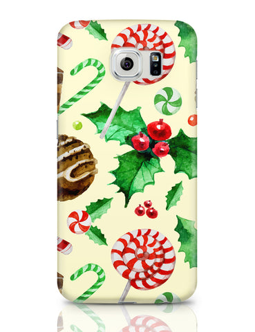 Samsung Galaxy S6 Covers | Christmas Pattern Samsung Galaxy S6 Covers Online India
