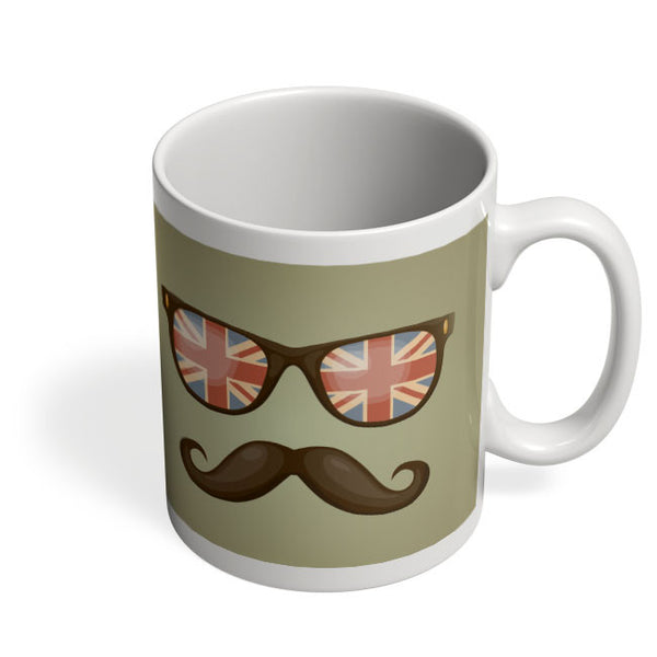 Coffee Mugs Online | Hipster Moustache Mug Online India