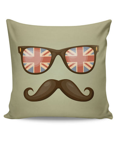 PosterGuy | Hipster Moustache Cushion Cover Online India