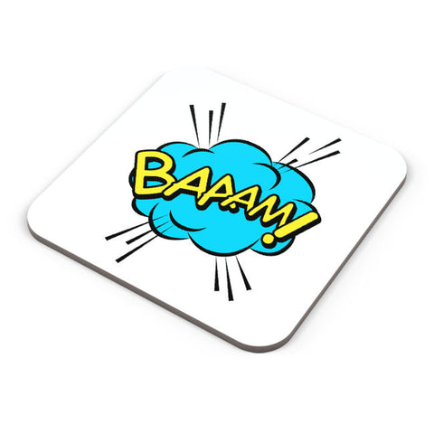 Buy Coasters Online | Comic Bubble Coaster Online India | PosterGuy.in