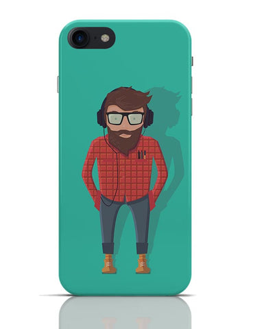 Hipster Guy iPhone 7 Covers Cases Online India
