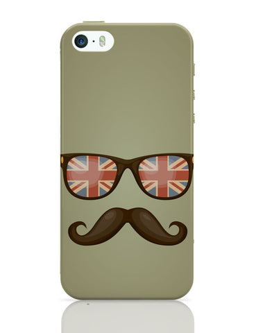 iPhone 5 / 5S Cases & Covers | Hipster Moustache iPhone 5 / 5S Case Online India