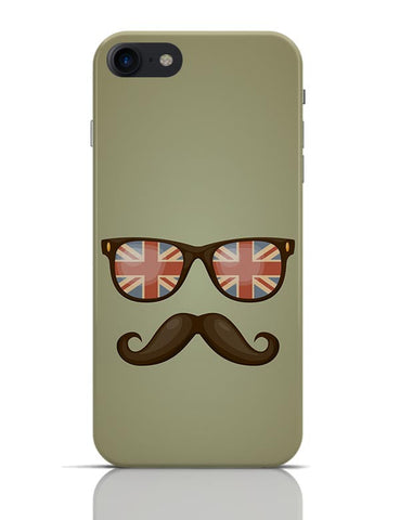 Hipster Moustache iPhone 7 Covers Cases Online India