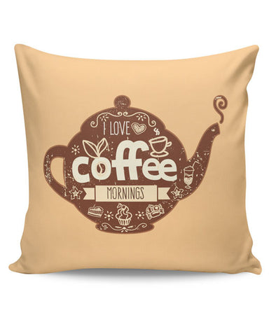 PosterGuy | Coffee Cushion Cover Online India