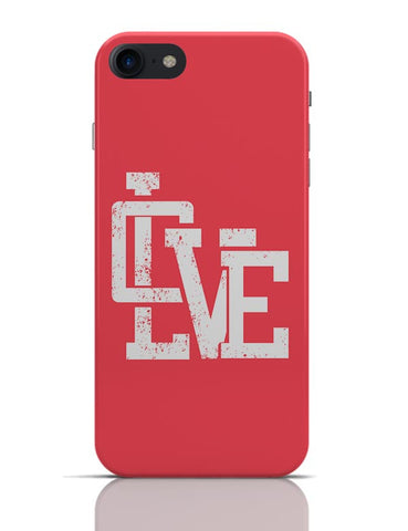 Love iPhone 7 Covers Cases Online India