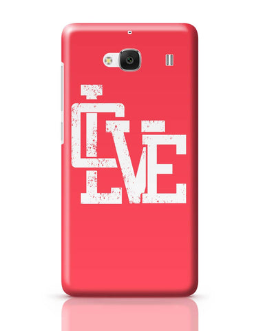 Xiaomi Redmi 2 / Redmi 2 Prime Cover| Love Redmi 2 / Redmi 2 Prime Cover Online India