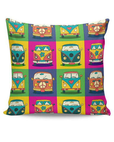 PosterGuy | Retro Van Cushion Cover Online India