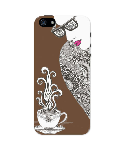 iPhone 5 / 5S Cases & Covers | Coffee & Spice Art Illustration iPhone 5 / 5S Case Online India