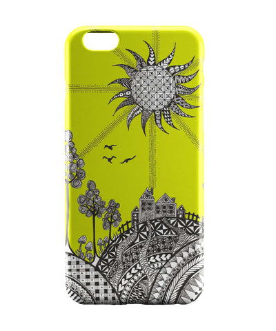 iPhone 6 Cases | Hill Top Art Illustration iPhone 6 Case Online India