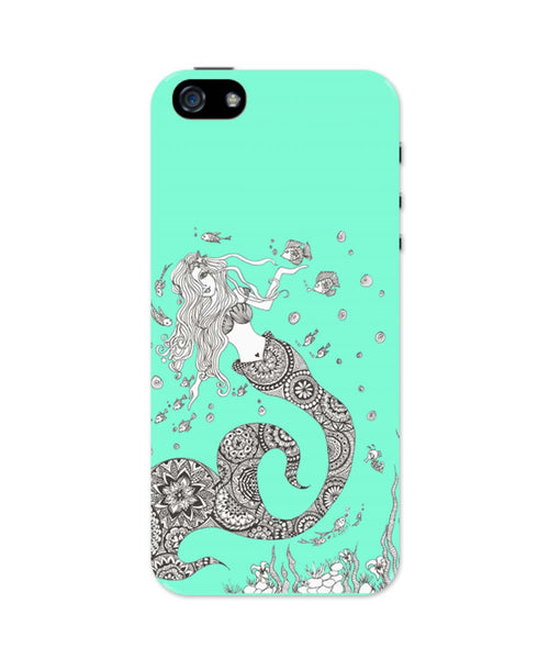 iPhone 5 / 5S Cases & Covers | Mermaid Art Illustration iPhone 5 / 5S Case Online India