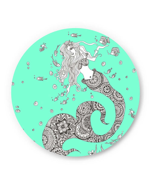 PosterGuy | Mermaid Art Illustration Fridge Magnet Online India by Surabhi Kuthiala