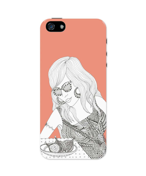 iPhone 5 / 5S Cases & Covers | Fruits Of Love iPhone 5 / 5S Case Online India