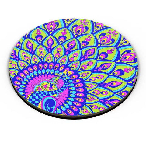 PosterGuy | Peacock Fridge Magnet Online India by Surabhi Kuthiyala