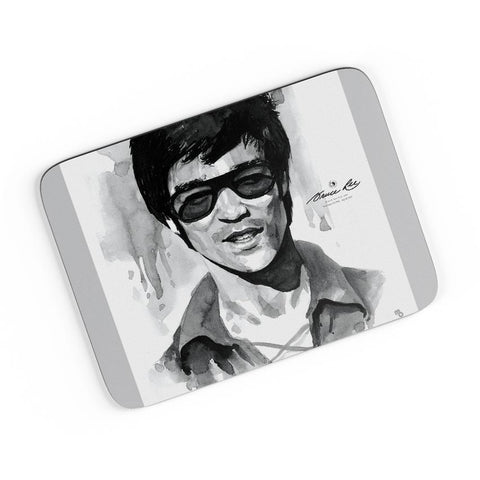Bruce Lee Graphic Illustration A4 Mousepad Online India