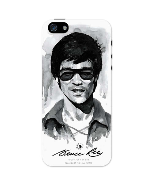 iPhone 5 / 5S Cases & Covers | Bruce Lee Graphic Illustration iPhone 5 / 5S Case Online India