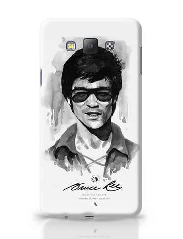 Samsung Galaxy A7 Covers | Bruce Lee Graphic Illustration Samsung Galaxy A7 Covers Online India