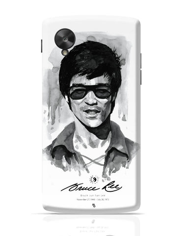 Google Nexus 5 Covers | Bruce Lee Graphic Illustration Google Nexus 5 Cover Online India