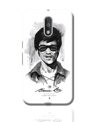 Bruce Lee Graphic Illustration Moto G4 Plus Online India