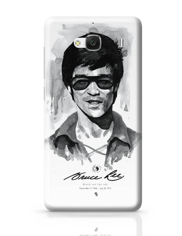 Xiaomi Redmi 2 / Redmi 2 Prime Cover| Bruce Lee Graphic Illustration Redmi 2 / Redmi 2 Prime Cover Online India