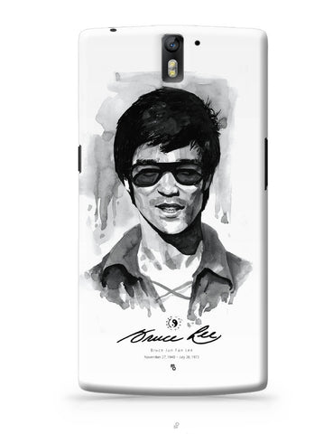 OnePlus One Covers | Bruce Lee Graphic Illustration OnePlus One Cover Online India