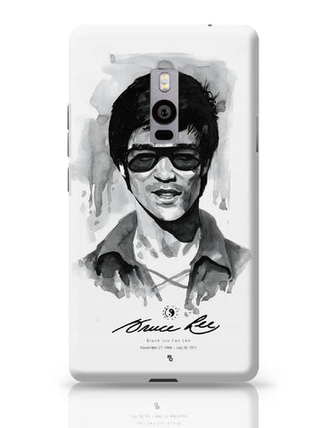 OnePlus Two Covers | Bruce Lee Graphic Illustration OnePlus Two Cover Online India