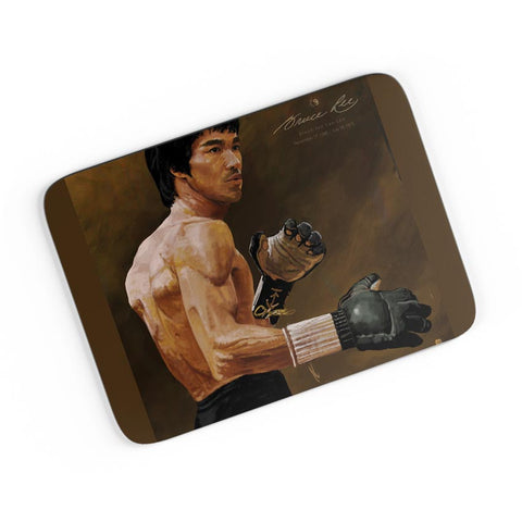 Bruce Lee Standing A4 Mousepad Online India